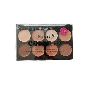 Nabi Colorfix Concealer Pallete Makeup  NWT